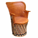 Mexican Equipale Pea Chair