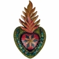 Mexican Flaming Crown Heart Decoration