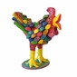 Mexican Folk Art - Colorful Screaming Chicken