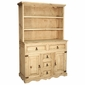 Mexican Furniture - Rustic Pine Indian Cupboard