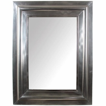 Mexican Natural Tin 3-D Wall Mirror