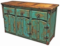 mexican painted furniturePainted Country Style Mexican Dining Furniture