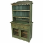 Mexican Painted Wood Kitchen Hutch