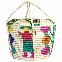 Mexican Palm Picnic Basket
