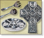 Mexican Pewter Home Accents - Serving Pieces and Gifts