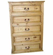 Mexican Pine Dresser 5 Drawer