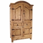 Mexican Pine Entertainment Armoire