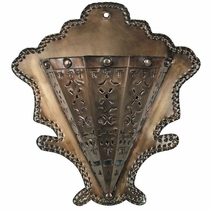 Mexican Terracotta Wall Sconces : Mexican Wall Sconces Made from Tin, Terra Cotta and Ceramic