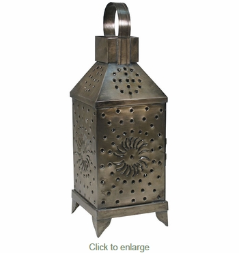 Mexican Punched Tin Lantern