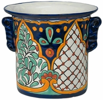 Mexican Talavera Wine Cooler