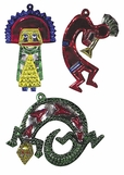 Mexican Tin Christmas Ornaments