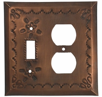 Mexican Tin Switch & Outlet Cover - Star Design