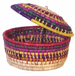Mexican Woven Palm Baskets and Tableware