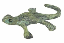 Mini Bronze Lizard