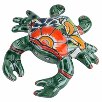 Mini Talavera Crab Wall Decoration