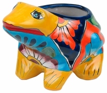 Mini Talavera Frog Pot - Talavera Ceramics