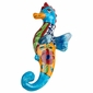 Mini Talavera Sea Horse - Ceramic Wall Art