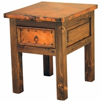 Montana Nightstand with Copper