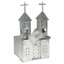 Natural Tin Church Luminaria