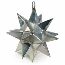 Natural Tin Mini Star Ornament