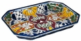 Octagon Talavera Serving Dish