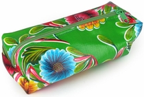 Mexican Oilcloth Travel Bag