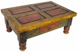 Old Mexico Painted Coffee Table