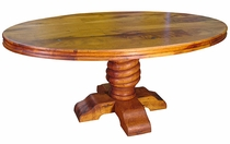 Oval Mesquite Dining Table