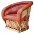 Over Stuffed Equipale Lounge Chair
