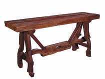 Ox Yoke Old Wood Sofa Table
