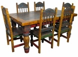 Painted Country Style Dining Furniture Tables & Chairs
