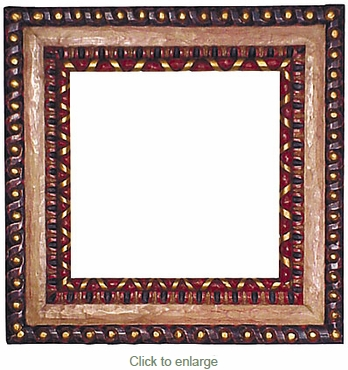 Painted Greca Frame