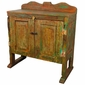 Painted Old Wood Southwest Buffet