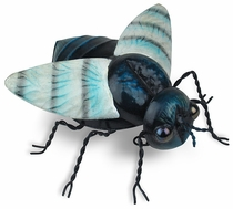 Painted Tin Fly Sculpture