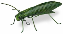 Painted Tin Grasshopper