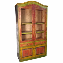 Painted Wood Bookcase