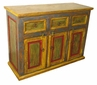 Painted Wood Sideboard Buffet