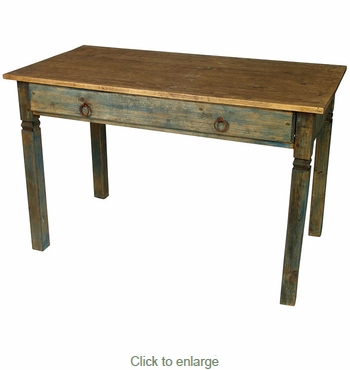 Painted Wood Simple Mennonite Desk