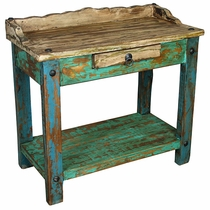 Painted Wood Telephone Table
