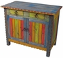 Painted Wood TV Stand or Small Buffet