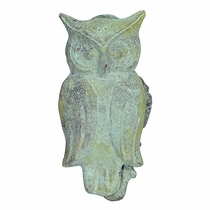 Patina Bronze Owl Knocker