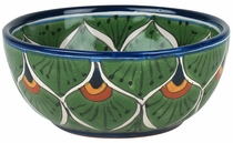 Peacock Talavera Cereal Bowl
