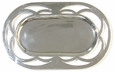 Pewter Oval Cut Out Tray