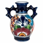 Pointed Handle Talavera Vase
