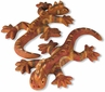 Pre-Columbian Clay Lizards - Set of 2