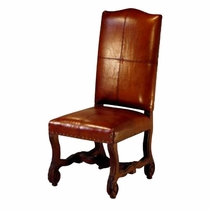Ranch Chair - Leather Back and Leather Seat