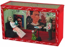 Random Assorted Frida & Diego Skeleton Dioramas