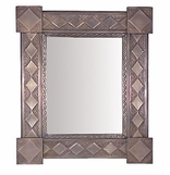 Rectangular and Square Tin Mirrors