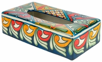 Rectangular Talavera Kleenex Box