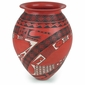 Red Mata Ortiz Southwest Vase